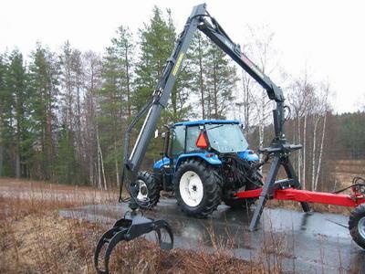 Гидроманипулятор своими руками на трактор для леса 99